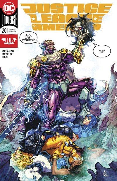 Justice League of America #20 (2017)