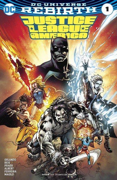 Justice League of America – Rebirth #1 + #1 – 20 + Annual (2017)