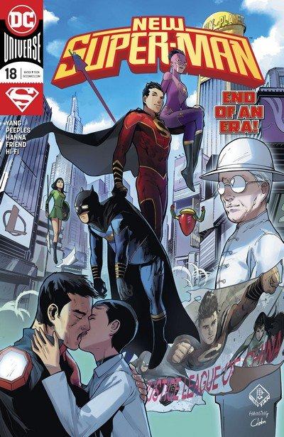 New Super-Man #18 (2017)