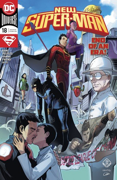 New Super-Man #18 (2017)