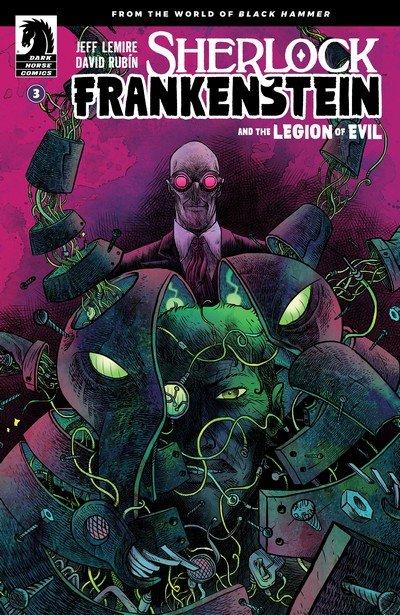 Sherlock Frankenstein and the Legion of Evil #3 (2017)