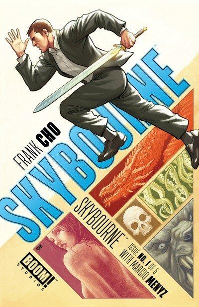 Skybourne #1 – 4 (2016)