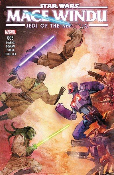 Star Wars – Jedi of the Republic – Mace Windu #5 (2017)