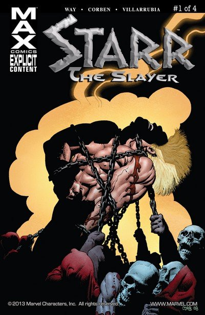 Starr the Slayer #1 – 4 (2009-2010)