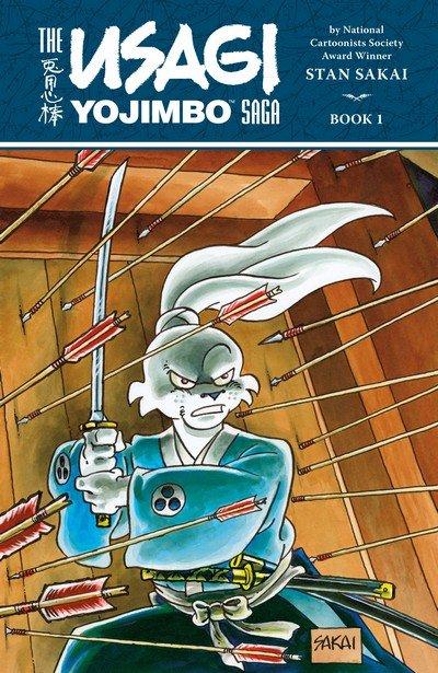 The Usagi Yojimbo Saga Book 1 – 9 (2014-2021)