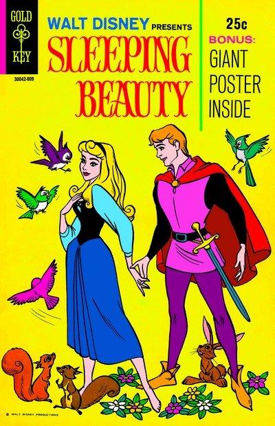 Walt Disney Presents Sleeping Beauty (Talon – Gold Key) (1970)