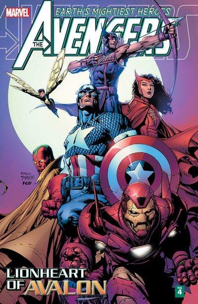 Avengers – Lionheart of Avalon (TPB) (2014)
