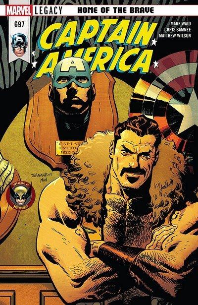 Captain America #697 (2018)
