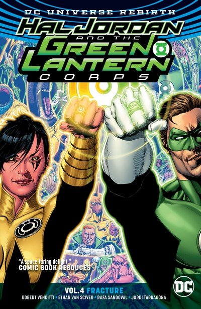 Hal Jordan and the Green Lantern Corps Vol. 4 – Fracture (TPB) (2018)