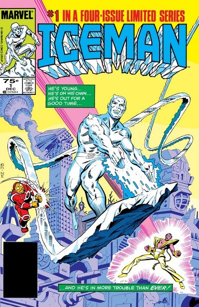 Iceman #1 – 4 (1984-1985)