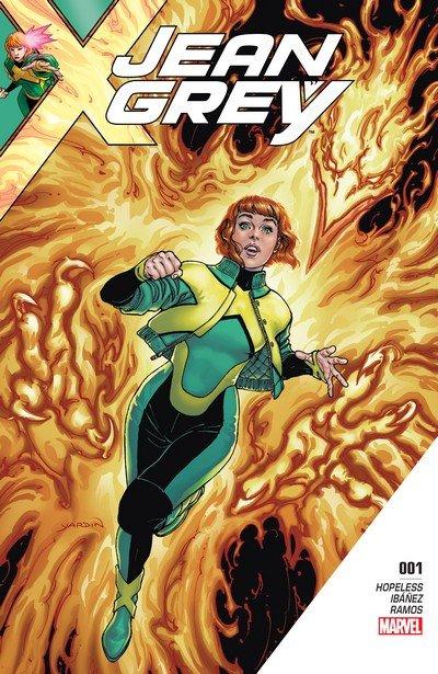 Jean Grey #1 – 11 + TPBs (2017-2018)