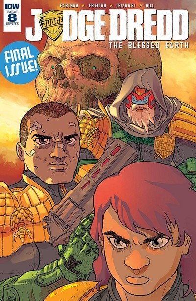 Judge Dredd – The Blessed Earth #8 (2018)