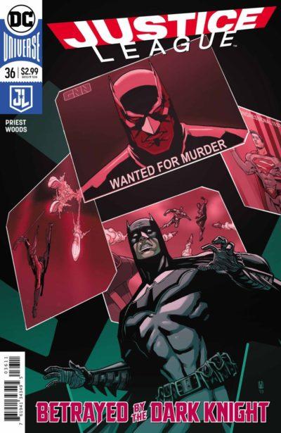 Justice League #36 (2018)