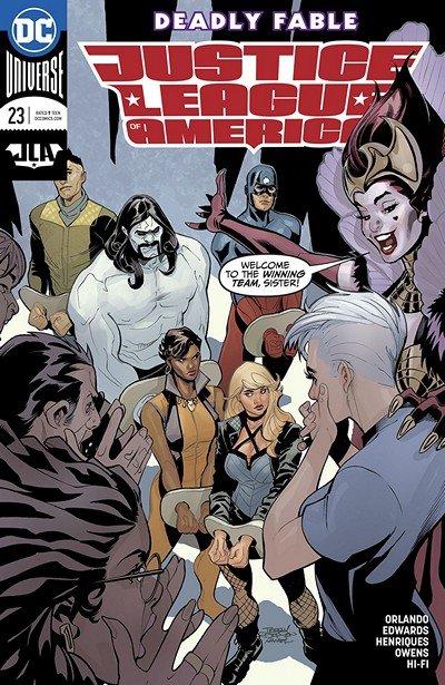 Justice League Of America #23 (2018)
