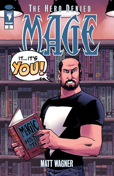 Mage – Book Three – The Hero Denied #5 (2018)