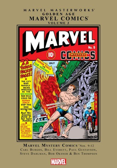 Marvel Masterworks – Golden Age Marvel Comics Vol. 3 (TPB) (2018)