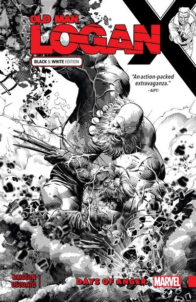 Old Man Logan Vol. 6 – Days of Anger – Black & White Edition (TPB) (2018)