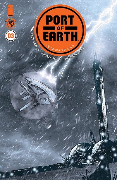 Port Of Earth #3 (2018)