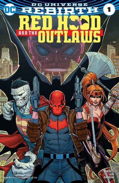 Red Hood and the Outlaws – Rebirth #1 + #1 – 44 (2016-2020)