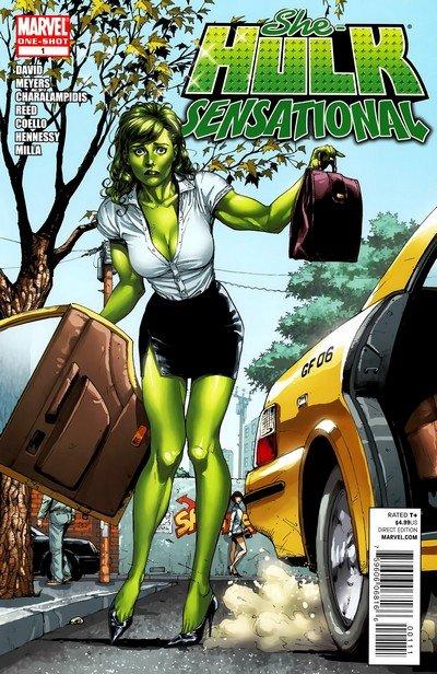 She-Hulk – Sensational #1 (One Shot) (2010)