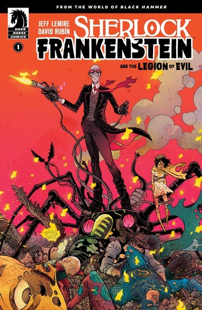 Sherlock Frankenstein and the Legion of Evil #1 – 4 (2017-2018)