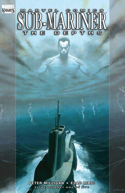 Sub-Mariner – The Depths #1 – 5 + TPB (2008-2009)
