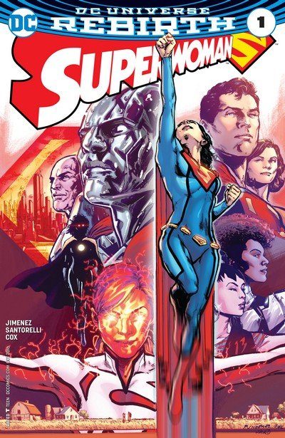 Superwoman #1 – 18 + TPB Vol. 1 – 3 (2016-2018)