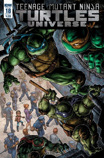 Teenage Mutant Ninja Turtles Universe #18 (2018)