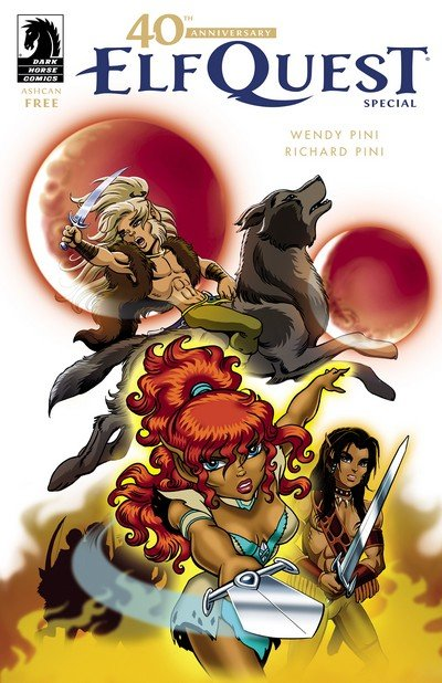 The 40th Anniversary ElfQuest Special Ashcan (2018)