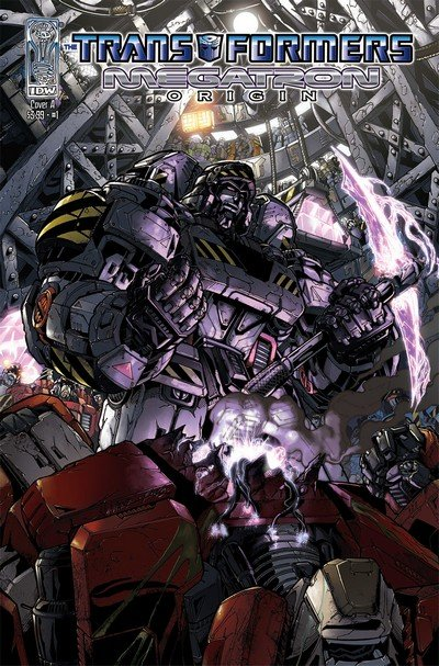 Transformers – Megatron Origin #1 – 4 (2007)