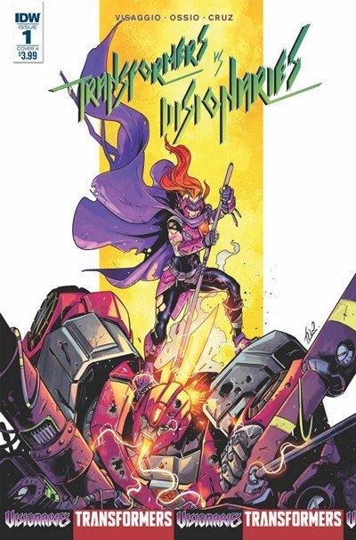 Transformers Vs The Visionaries #1 (2018)