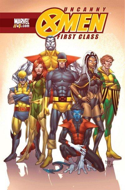 Uncanny X-Men – First Class #1 – 8 (2009-2010)