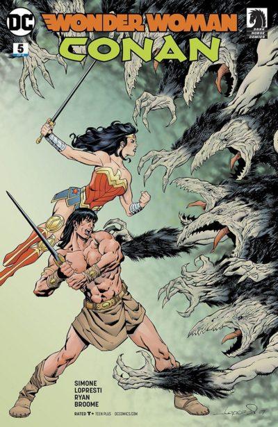 Wonder Woman-Conan #5 (2018)