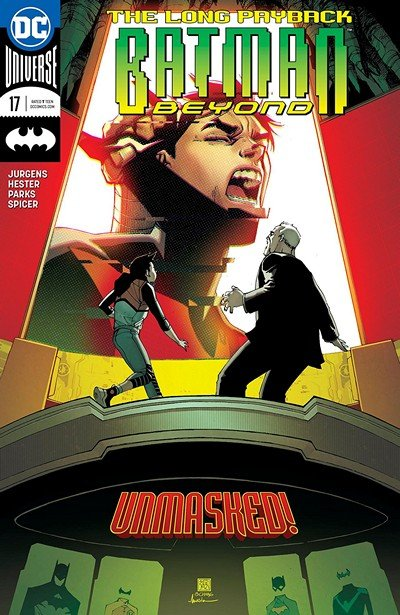 Batman Beyond #17 (2018)