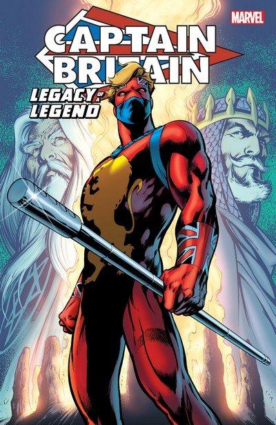 Captain Britain – Legacy of a Legend (TPB) (2016)