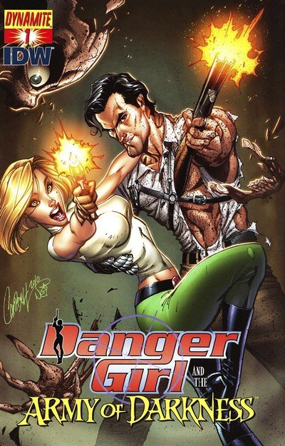 Danger Girl And The Army Of Darkness #1 – 6 + TPB (2011-2012)