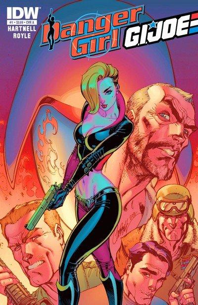 Danger Girl – G.I. Joe #1 – 5 (2012-2013)