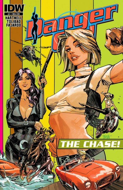 Danger Girl – The Chase! #1 – 4 (2013)