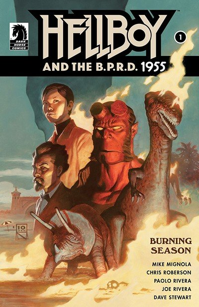 Hellboy And The B.P.R.D. – 1955 Burning Season #1 (2018)