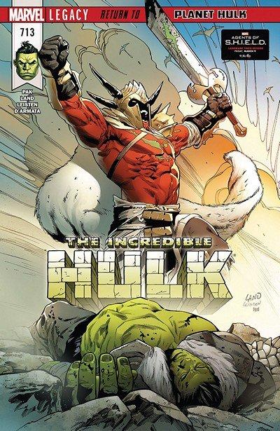 Incredible Hulk #713 (2018)