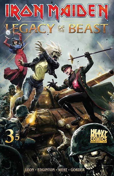 Iron Maiden Legacy Of The Beast #3 (2018)
