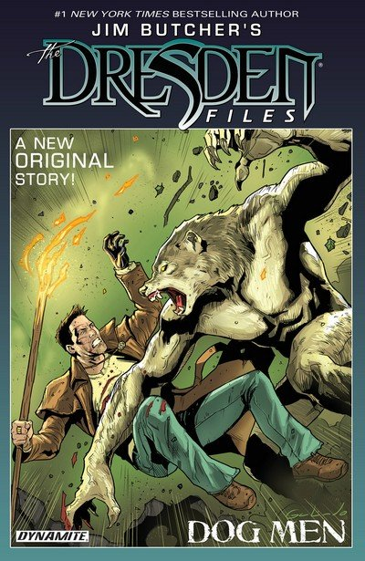 Jim Butcher's The Dresden Files – Dog Men Vol. 1 (TPB) (2018)