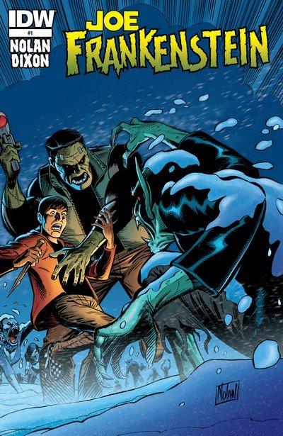 Joe Frankenstein #1 – 4 (2015)
