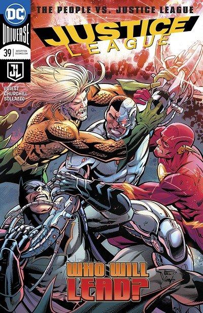 Justice League #39 (2018)