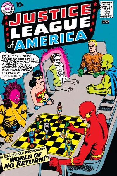 Justice League of America Vol. 1 #1 – 261 + Annuals (1960-1987)