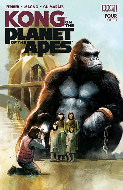 Kong On The Planet Of The Apes #4 (2018)