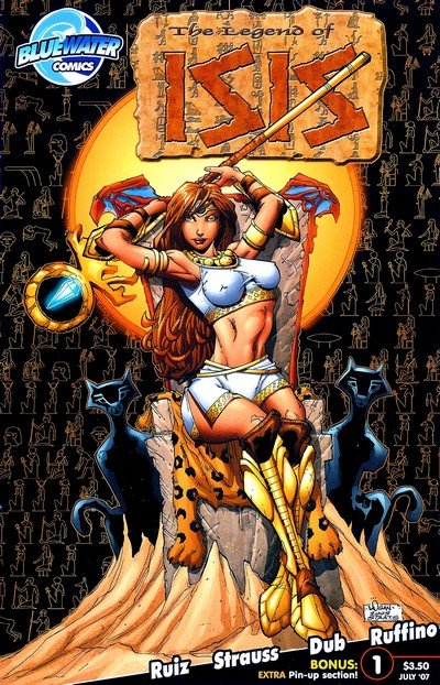 Legend of Isis Vol. 1 – 3 + Extras (Collection) (2002-2011)
