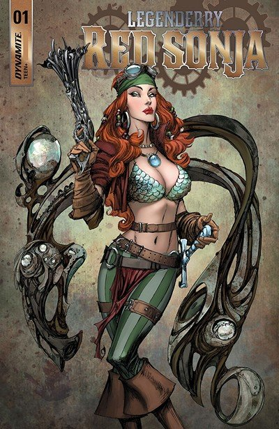 Legenderry – Red Sonja #1 (2018)