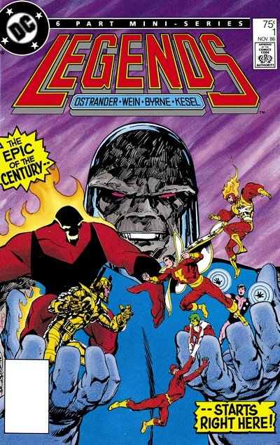 Legends #1 – 6 (1986-1987)