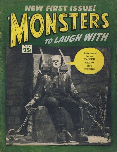 Monsters to Laugh With #1 – 3 + Monsters Unlimited #4 – 7 (1964-1966)